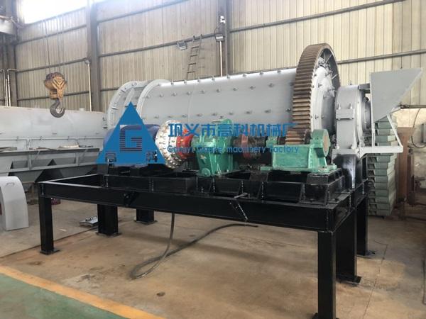 时产100吨棒磨机制砂生产线设备配置