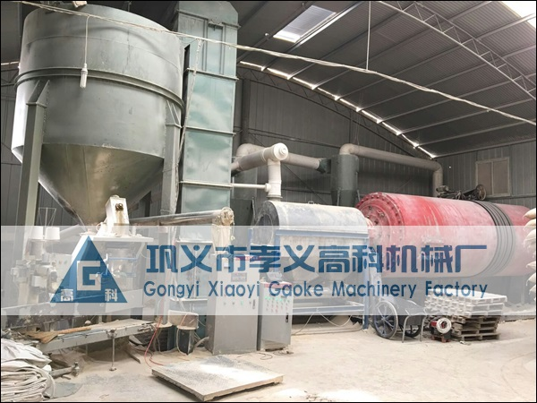 年产6万吨钾长石深加工干式磨粉生产线设备配置