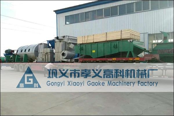 全套钾长石磨粉设备发往广东肇庆