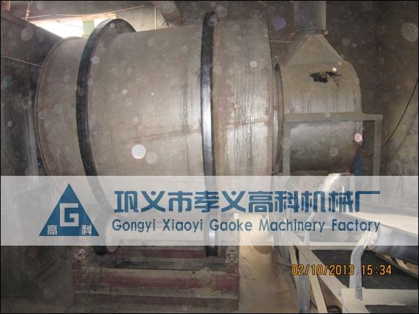 湖北襄樊型砂三筒烘干机现场