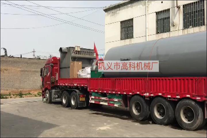 硅石制粒全套设备发往广州肇庆