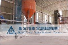 硅石制粉工艺流程及设备
