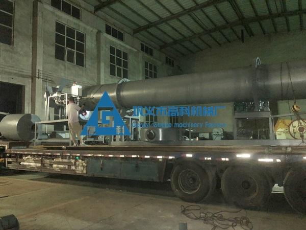 1010铝屑处理用烘干机发往广东