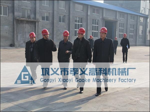朝鲜冶金研究院代表考察我厂