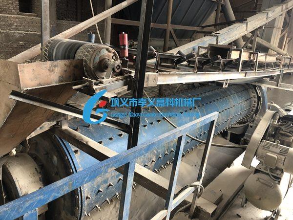 时产40吨钢渣微粉生产线使用现场
